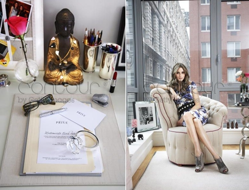 Interiors: Olivia Palermo at home ~ fashion in my eyes