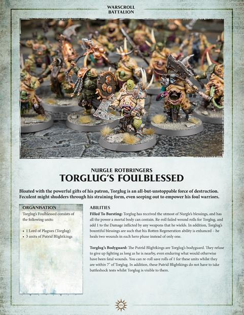 AoS: Nurgle formation from Balance of Power