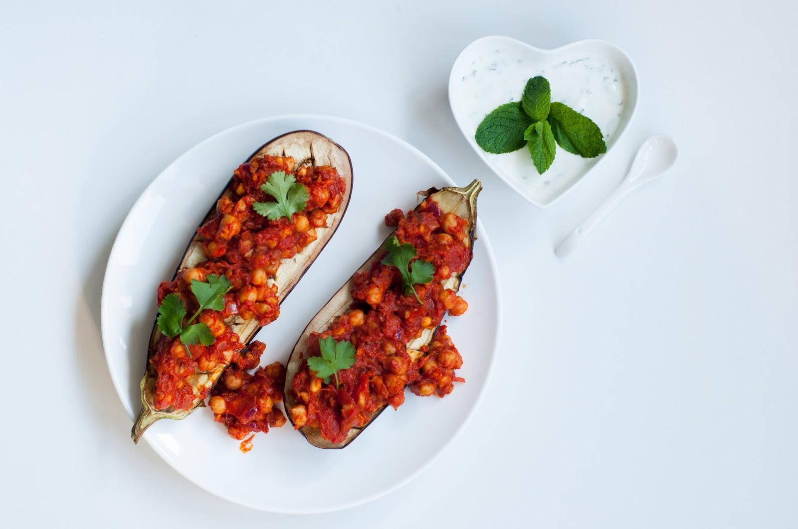 Three girls one kitchen: gezond recept: gevulde aubergine met ...