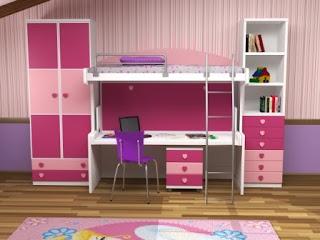 Muebles juveniles dormitorios infantiles y habitaciones for Mueble cama doble