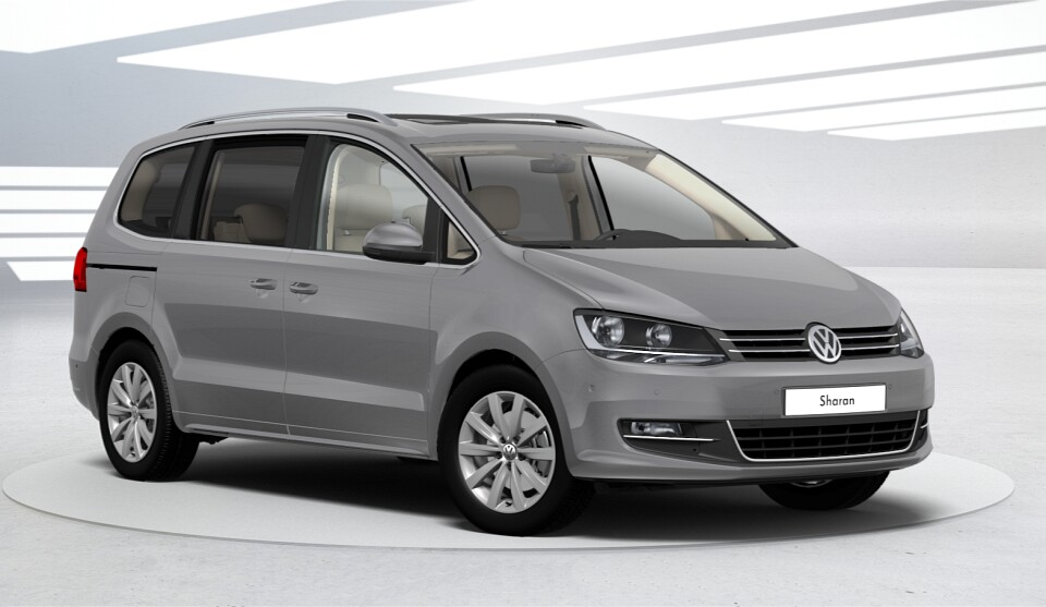 volkswagen sharan ii restyl 2015 couleurs colors. Black Bedroom Furniture Sets. Home Design Ideas