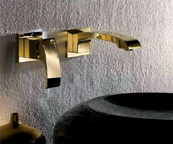 ... silver nickel, bronze, gold and antique gold makes any bathroom that