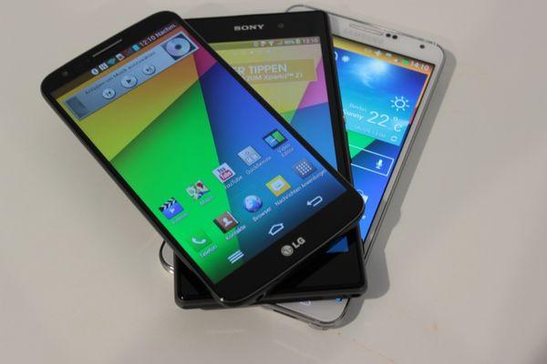 Samsung, Samsung Galaxy Note 3, GALAXY Note 3, Note 3, Samsung Note 3, LG, G2, LG G2, Sony, Sony Xperia Z1, Xperia Z1