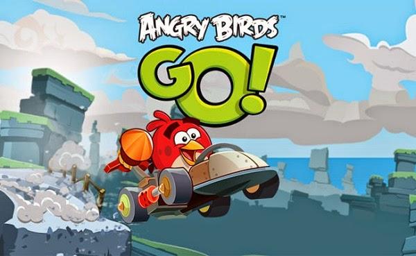 تحميل لعبة سباق الطيور الغاضبه Angry Birds Go للاندرويد