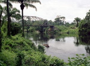 نهر زائير في الكونغو