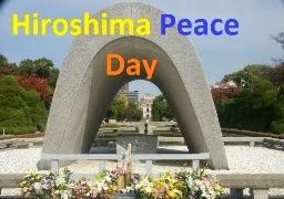 atomic bomb peace hiroshima day