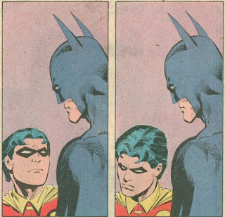 Batman, Robin, disappointment, scolding, you have let us all down