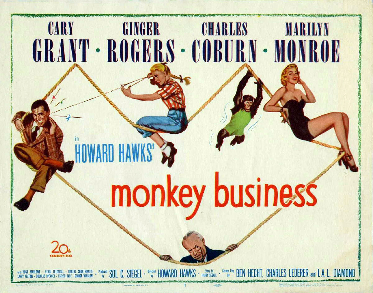 Trophy Unlocked: Stubs - Monkey Business (1952)