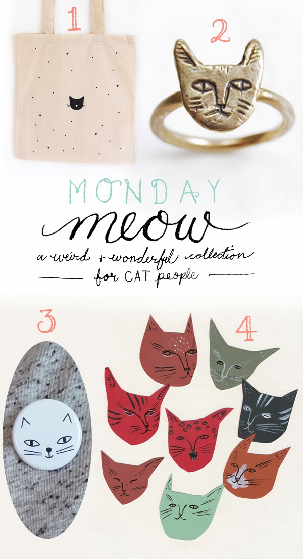 Happiness is... Monday Meow 09 - a weird and wonderful collection for cat people