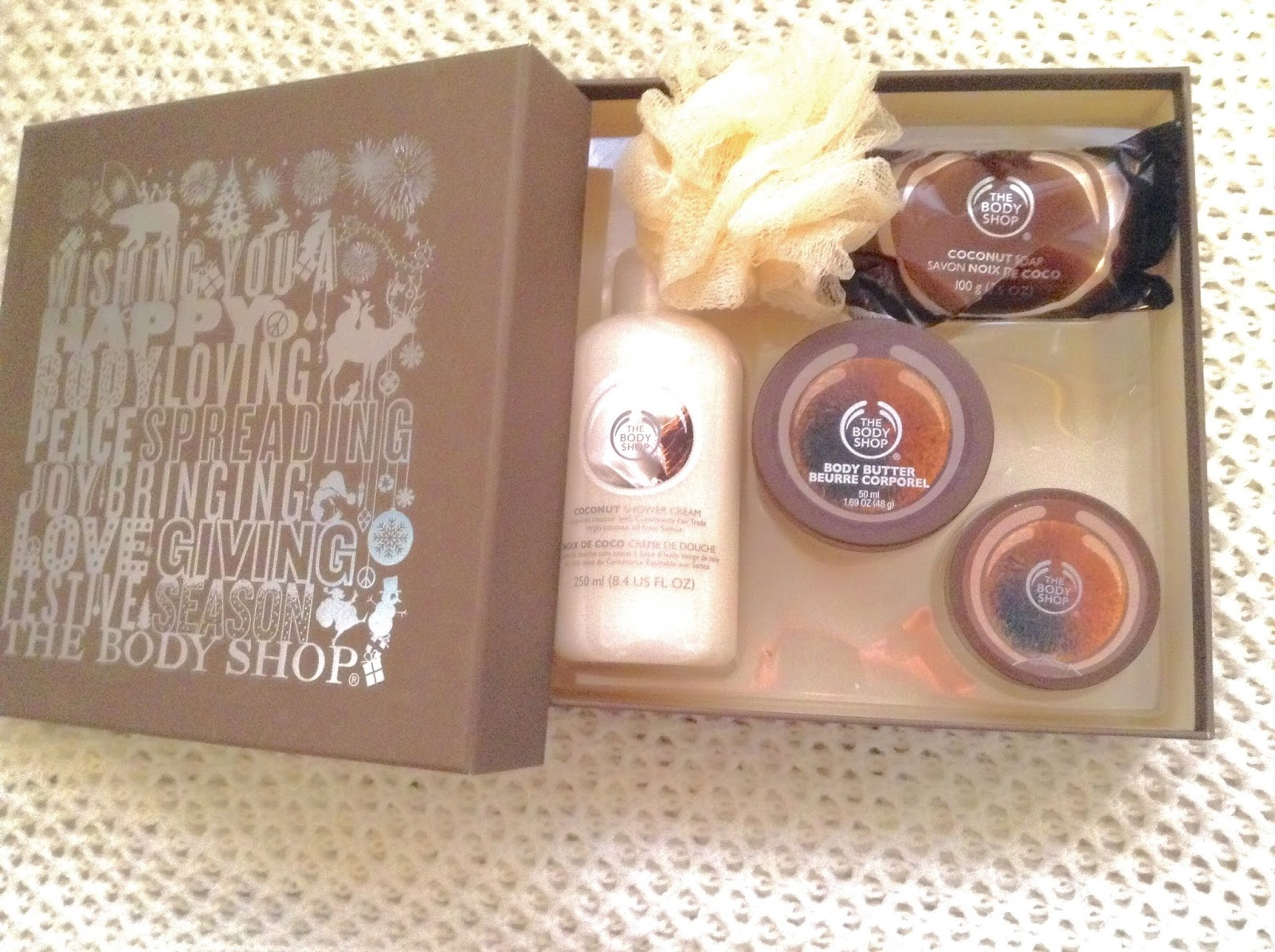 The Body Shop Coconut Festive Picks