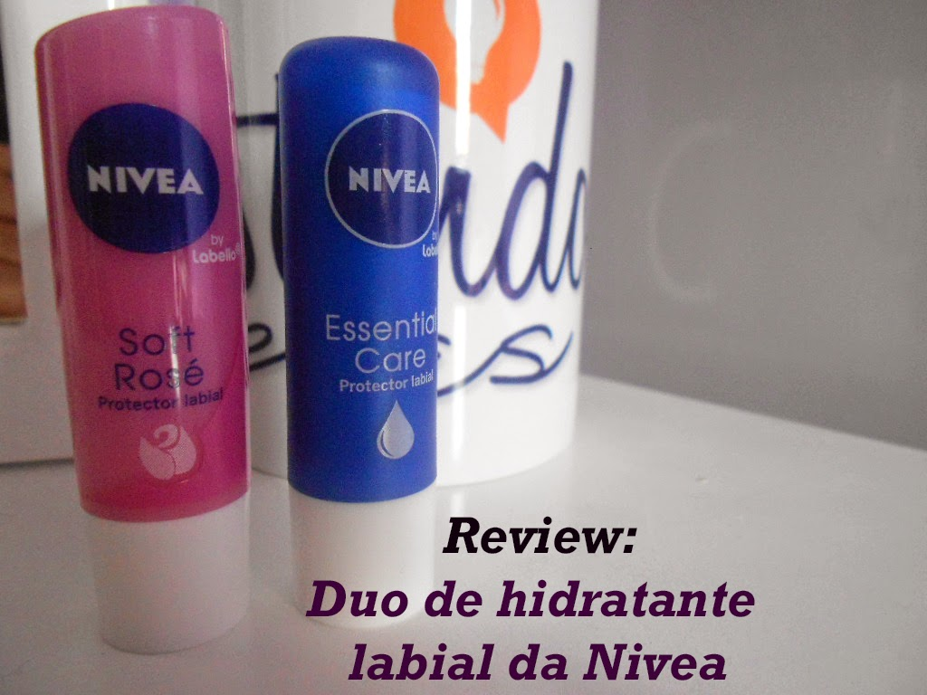 Review: Duo de hidratante labial da Nivea