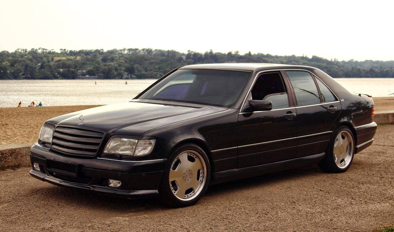Mercedes-Benz W140 S600 Wald body kit