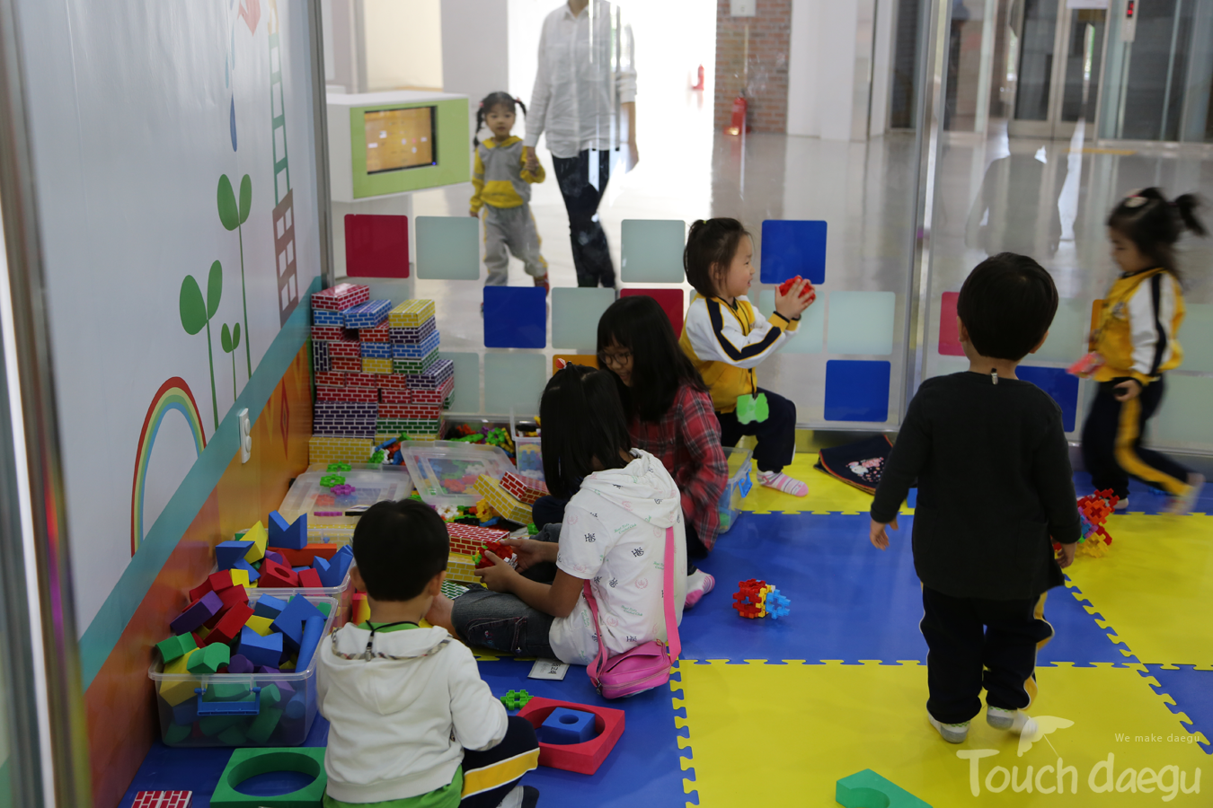 Kids in Kids Space in Daegu Art Factory