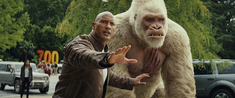 Filme Rampage - Destruição Total - Blu-Ray Legendado  Torrent