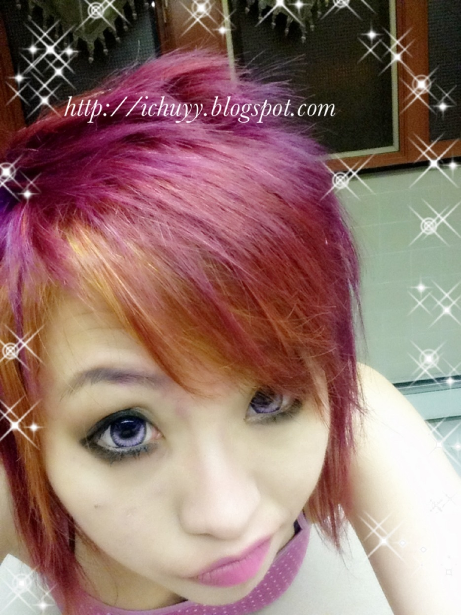 Purple Hair Splat Hair Dye Review