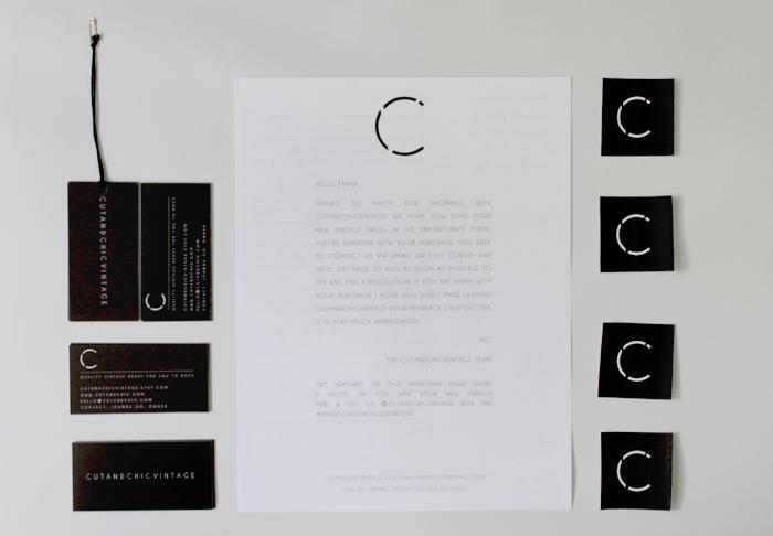 cutandchicvintage brand design 5