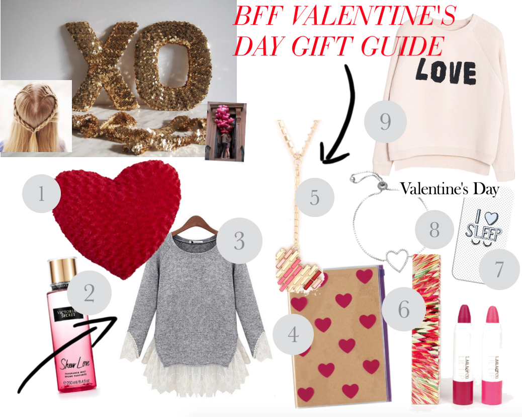bff valentine's day gift guide: #valentinesday #blogging #love http://isafashionebella.blogspot.com