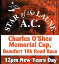 10k race near Killarney on 1st Jan