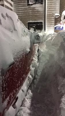 Shoveling Winter Storm Kayla