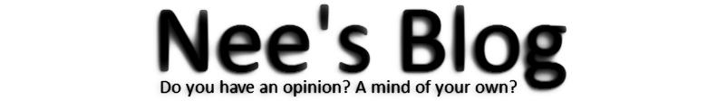 Nee's Blog
