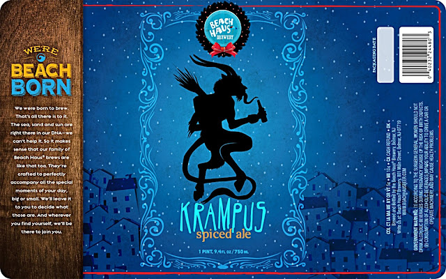Beach Haus Brewery, New Jersey, Craft Beer, Krampus
