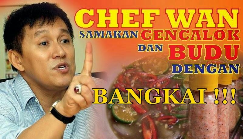 Budu Dan Cencaluk Adalah Bangkai – Chef Wan