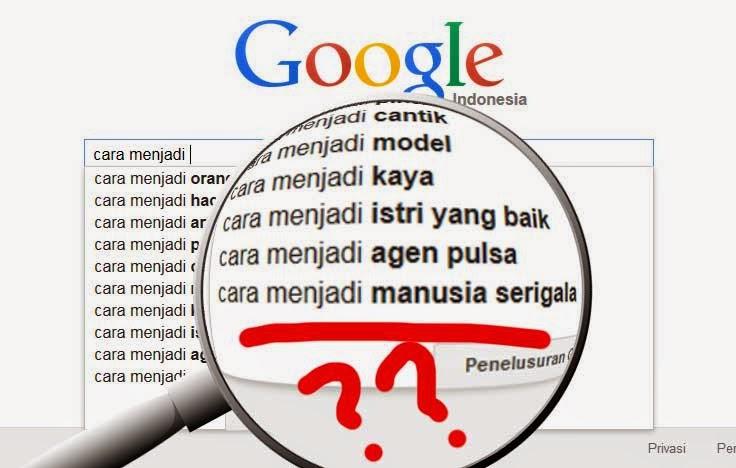 Pencarian Aneh-Aneh Di Google Search