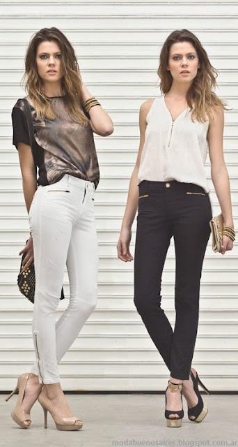 Markova jeans moda 2014. Pantalones de mujer.