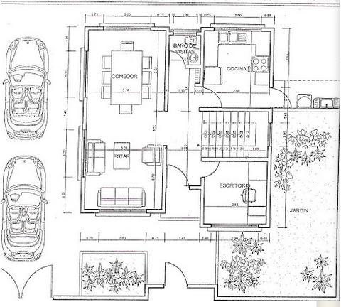 Planos de casas modelos y dise os de casas noviembre 2012 for Plano casa 2 plantas
