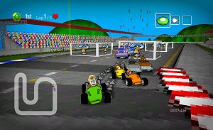 Dirchie Kart freeware PC racing games