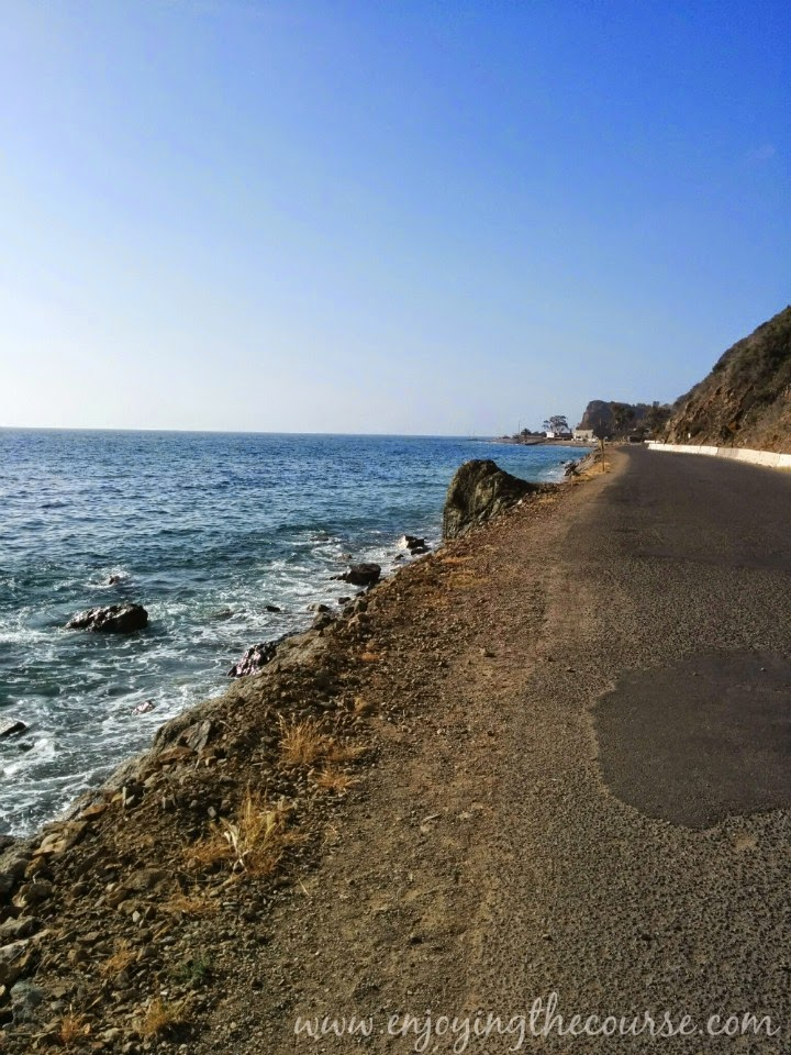 Catalina Island | Pebbly Road