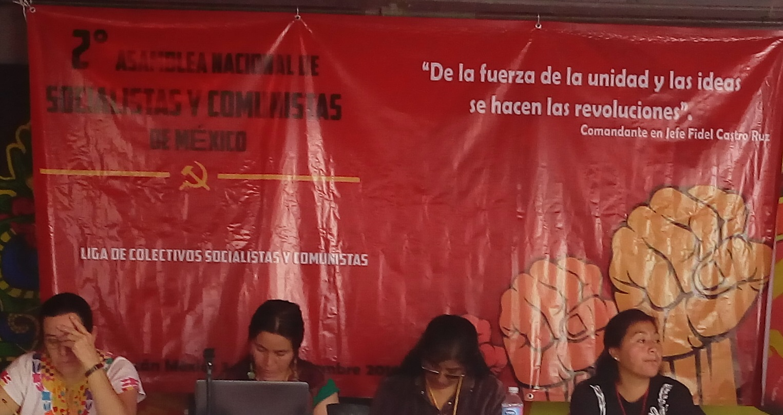 LIGA DE COLECTIVOS SOCIALISTAS Y COMUNISTAS. REDIR-MLN