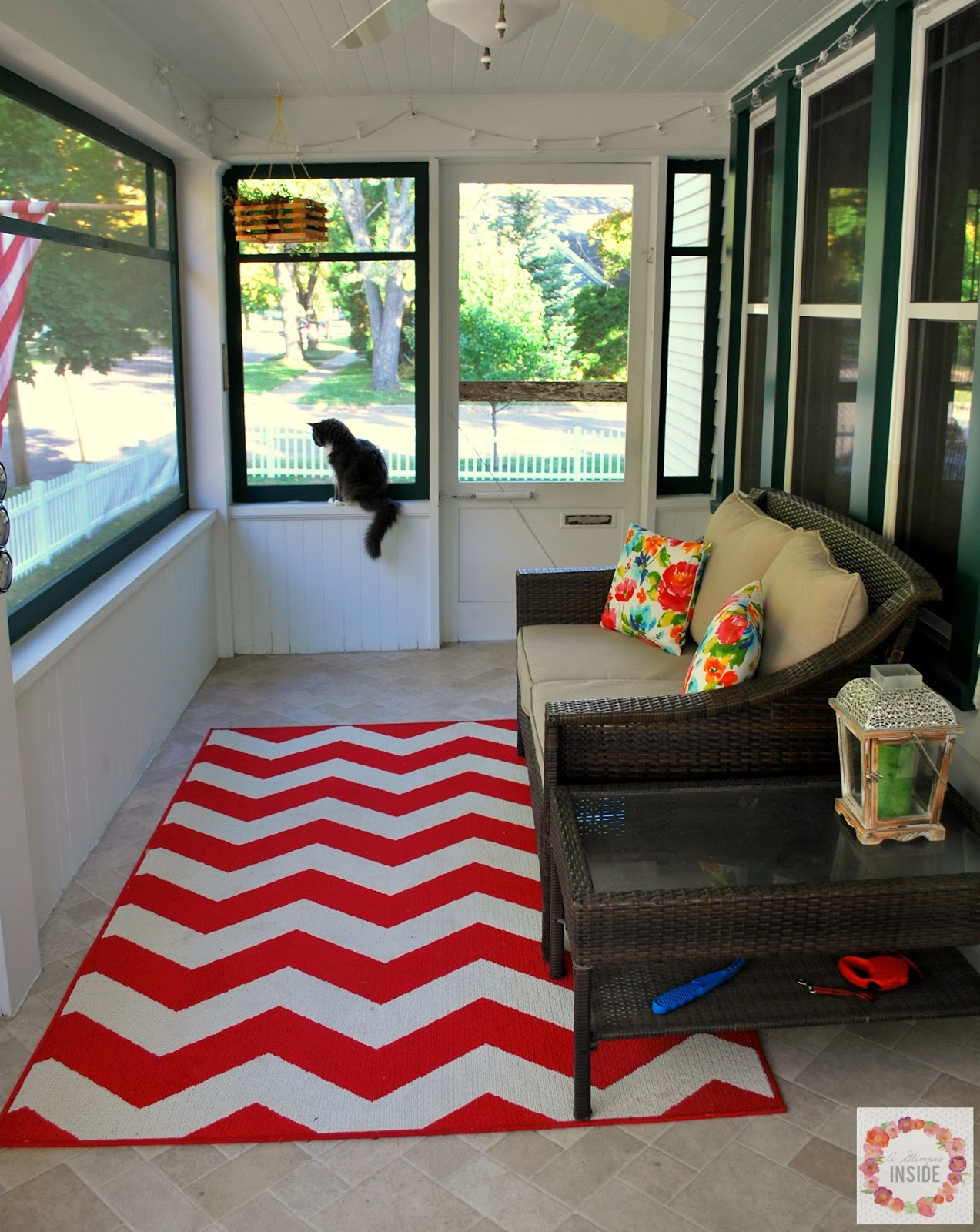 A Glimpse Inside House Tour Front Porch