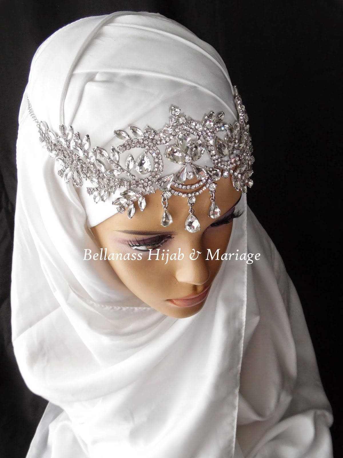 bijoux de tete hijab. Black Bedroom Furniture Sets. Home Design Ideas
