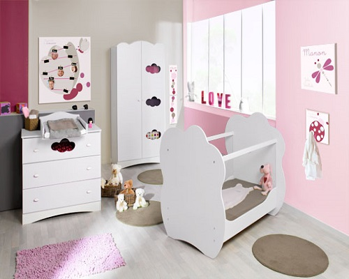 d coration b b fille b b et d coration chambre b b sant b b beau b b. Black Bedroom Furniture Sets. Home Design Ideas