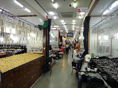 Namdaemun Jewellery Market Seoul South Korea