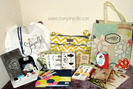 Stampin' Up! Convention Bag, Stamp Sets & More