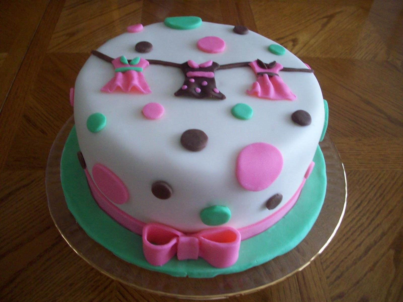 Easy Baby Shower Cakes For Girls