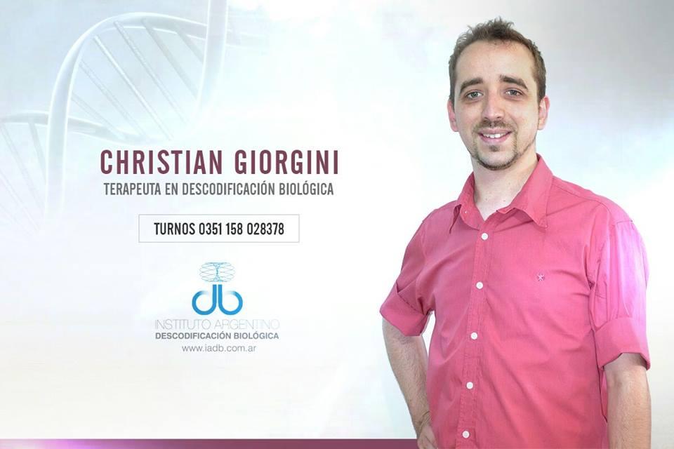 CHRISTIAN GIORGINI, Terapeuta en Descodificación Biologica en Córdoba