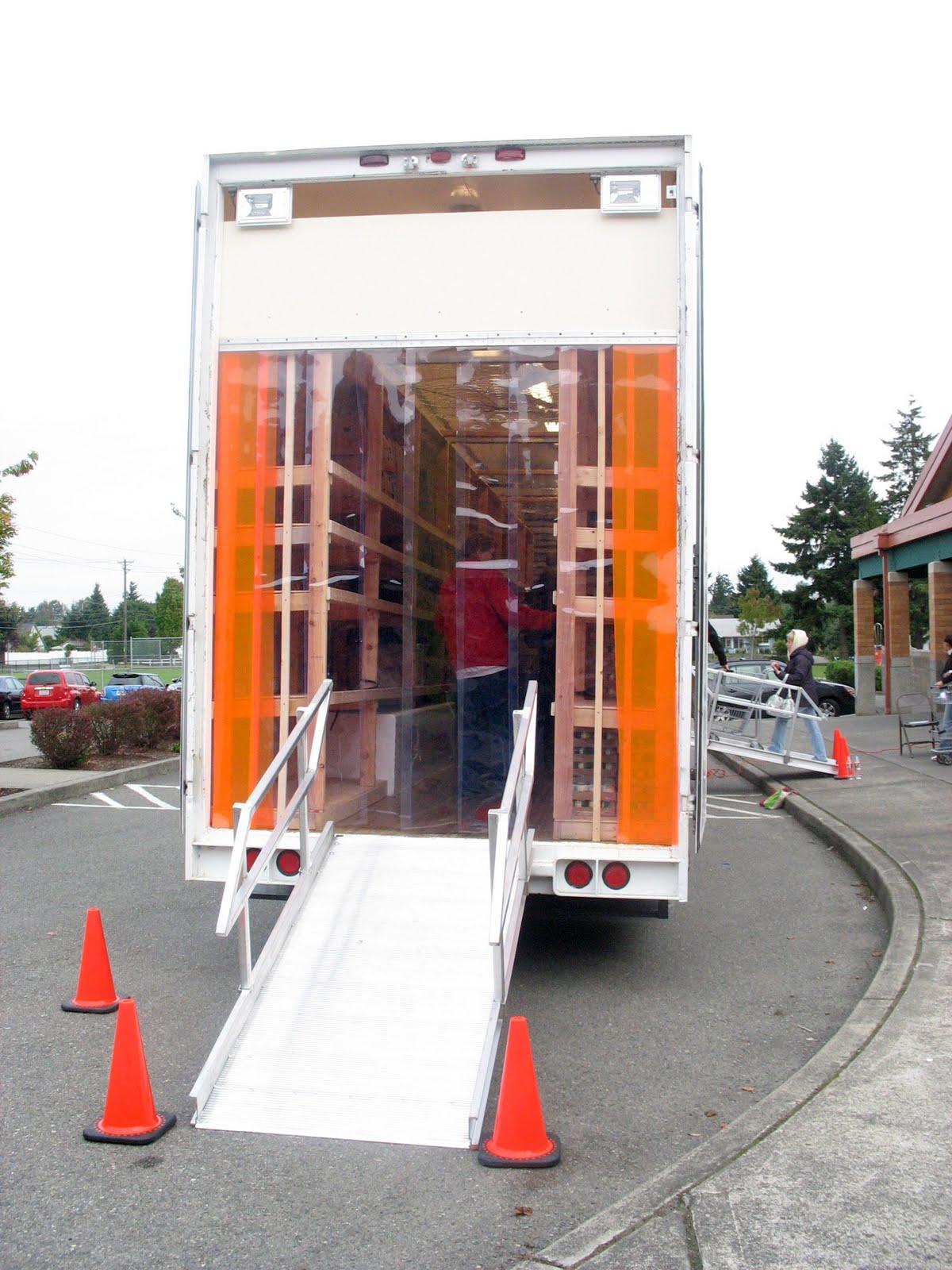 Fish wrap october 2011 for Fish food bank tacoma
