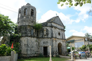 St. Rosa de Lima church in Daanbantayan, Cebu, Philippines