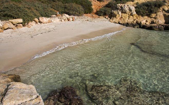Cala Bella Dona naturist beach in Mallorca