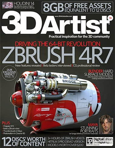 3D Artist Magazine Issue 78  2015