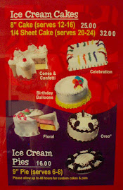 Real Ice Cream Cakes and Pies