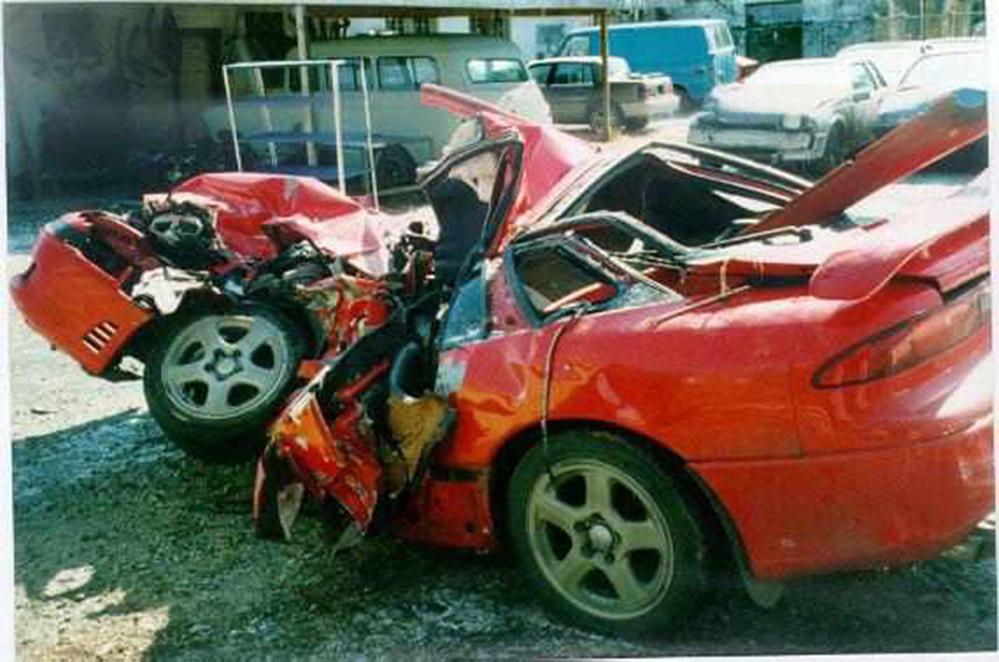 pics of car accidents bad