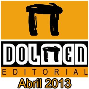 Dolmen Editorial: Novedades Abril 2013