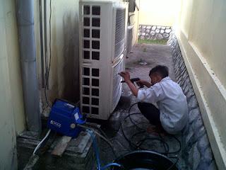 Cuci ac floor standing murah gedangan | sidoarjo