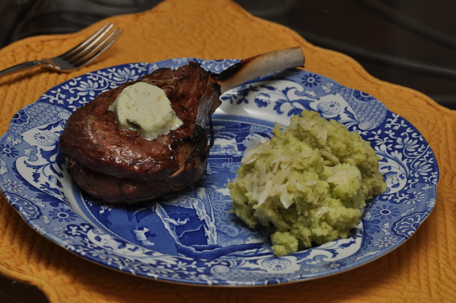 Made Like Madeley: Made Veal Chops with Roquefort Butter