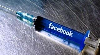 Kecanduan Facebook Mirip Kecanduan Narkotika
