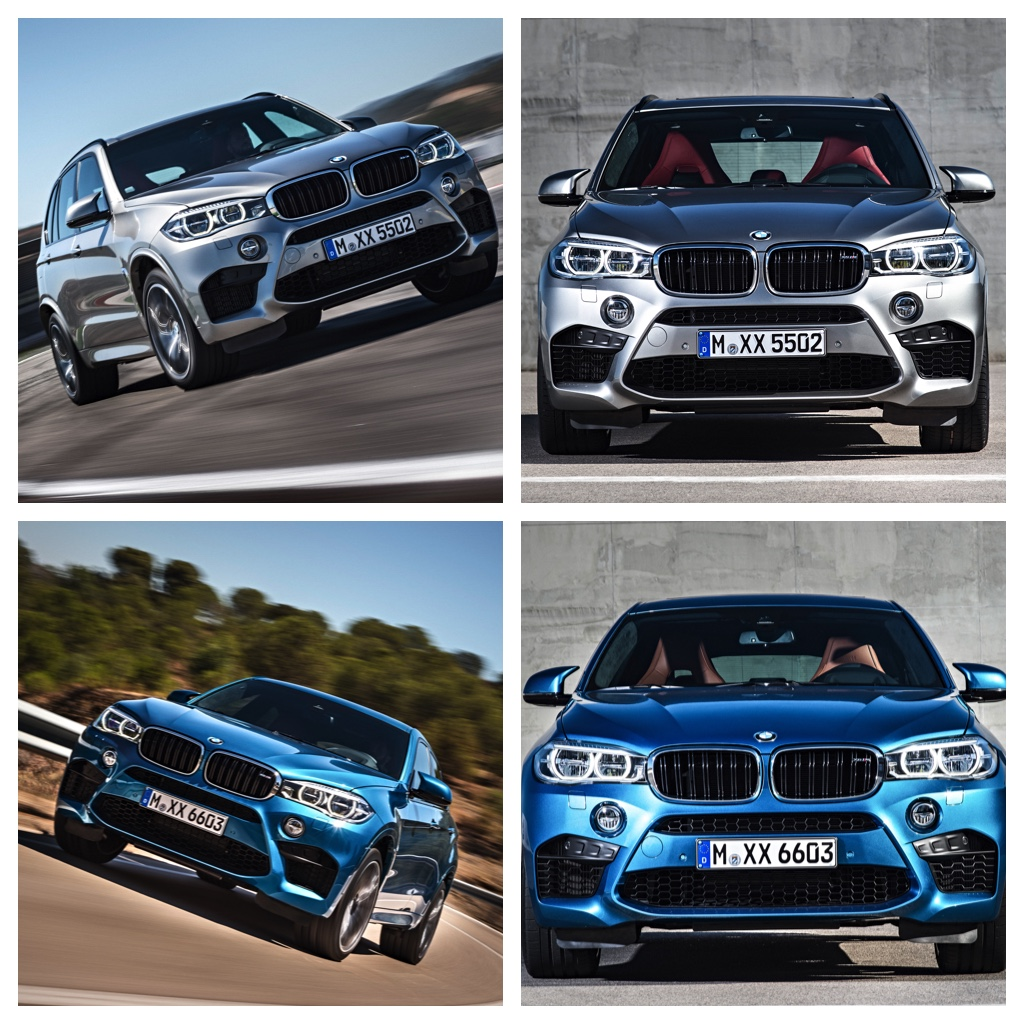 New BMW X5 M and X6 M